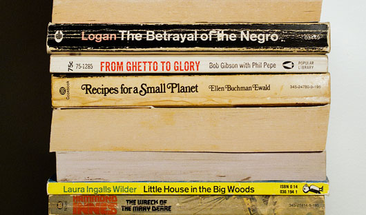 Books no. 2, 63, 28, 22, 101, 8, 104 and 49 in The Jonestown Library
