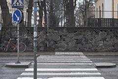Timmermansgatan wall